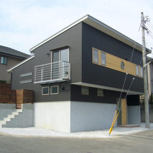 オーナーの趣味を形にするスキップフロア住宅