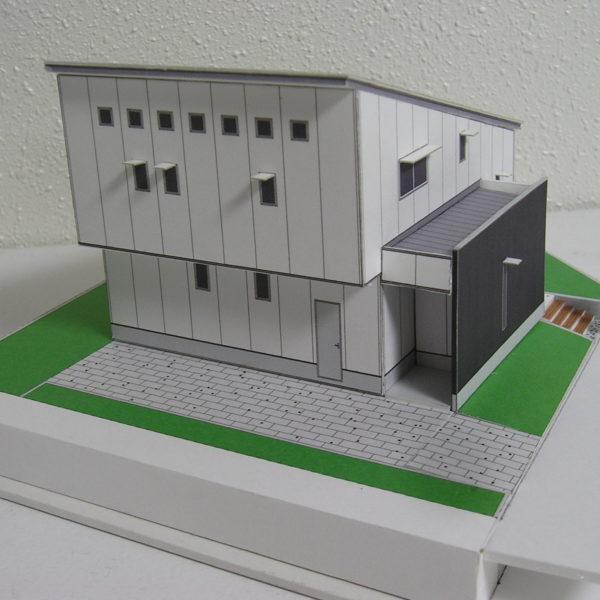 5層スキップフロアの住宅